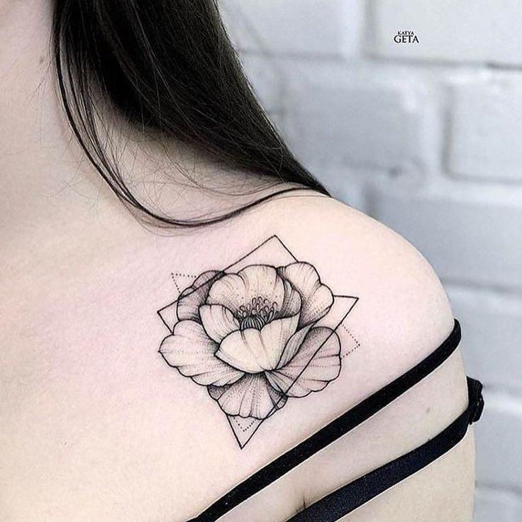 Flower Tattoo – 10 Original Tattoo Ideen und ihre Bedeutung – sketʃ