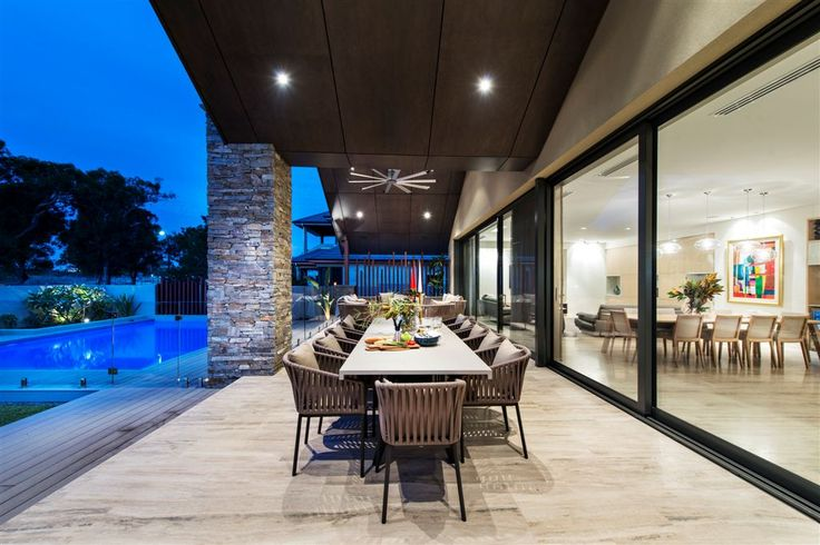 """Entertainers delight, """"Urbane Revival"""" alfresco by Urbane Projects, Perth"""
