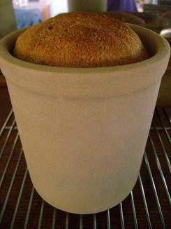 Bread baking crocks - round loaf Link to Pampered Chef Outlet