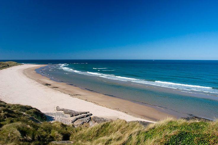 Seahouses beach, Northumberland