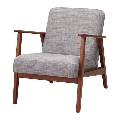 EKENÄSET Lepotuoli - Isunda harmaa - IKEA 5c1da3f101