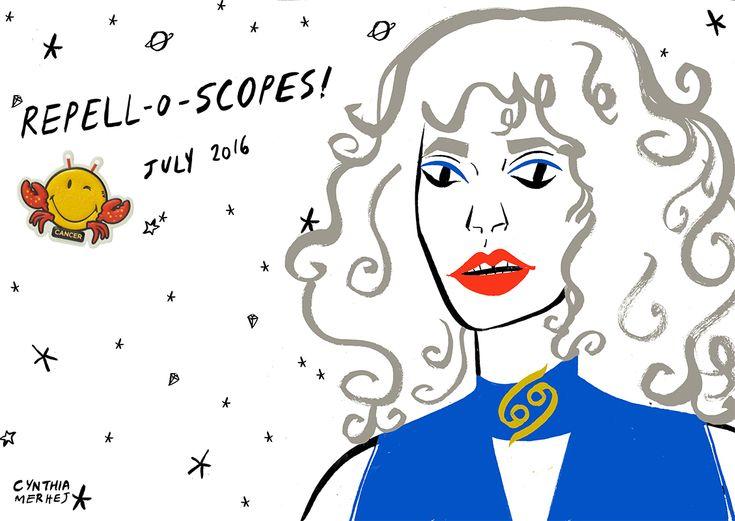 July horoscopes 2016 bring to you Amelia Diamond / Susan Miller!