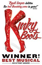 Pre-sale for Kinky Boots in Vancouver