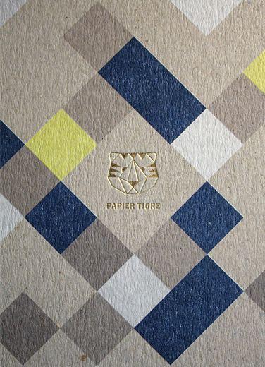 j'aime beaucoup ce que fait papier tigre : géometrie et couleur