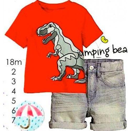 Baju anak laki-laki setelan casual dengan gambar dinosaurus berwarna merahset celana jeans strech berkancing karet untuk besar kecil pinggang dan berseleting Merk: Jumping Beans Bahan: Kaos Katun, celana jeans Termasuk: Kaos ,celana info: ada kancing karet untuk besar kecil pinggang 18m Lebar dada 28cm – panjang kaos 38cm – […]