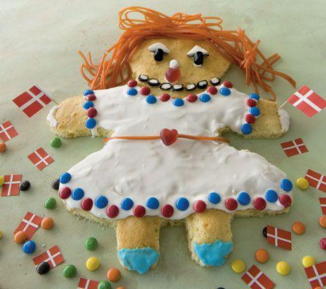 Hip hip hurra: Bag en festlig kagekone