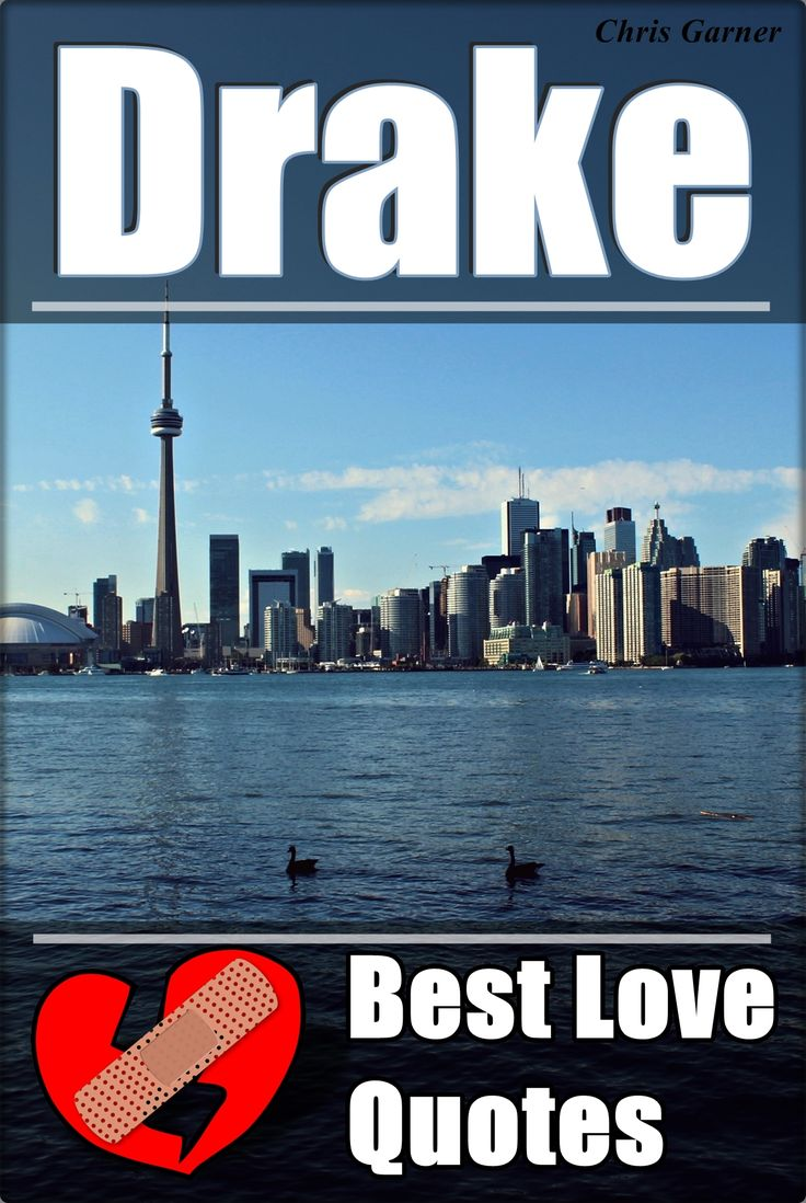 """DRAKE: Best Love Quotes Kindle Edition  """"It's funny how people enter love with their eyes closed, but leave it with their eyes wide open""""  ~Drake   """"Drake: Best Love Quotes"""" is a great choice for anyone who's a romantic person,  experiencing a heartbreak or maybe having some relationship problems right now…   You will find great PICTURES with wise and romantic quotes all in one place.   Try this book out, I guarantee you'll leave wiser..."""