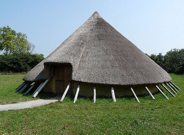 Iron Age Round House - round houses have been around throughout the ages!!