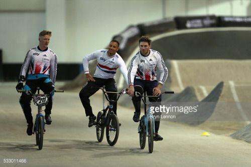 MANCHESTER, ENGLAND - MAY 19: Team GB BMX rider Liam... #trefontane: MANCHESTER, ENGLAND - MAY 19: Team GB BMX rider Liam… #trefontane