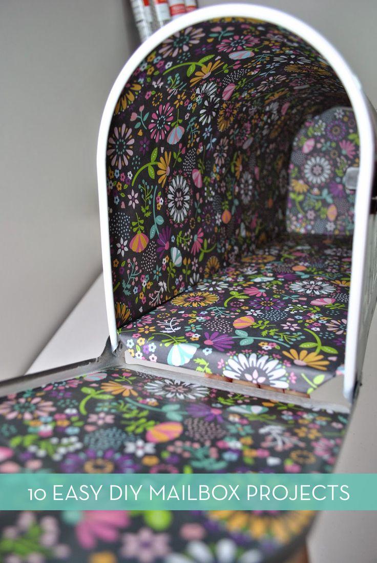 Roundup: 10 Inspiring DIY Mailbox Upgrades