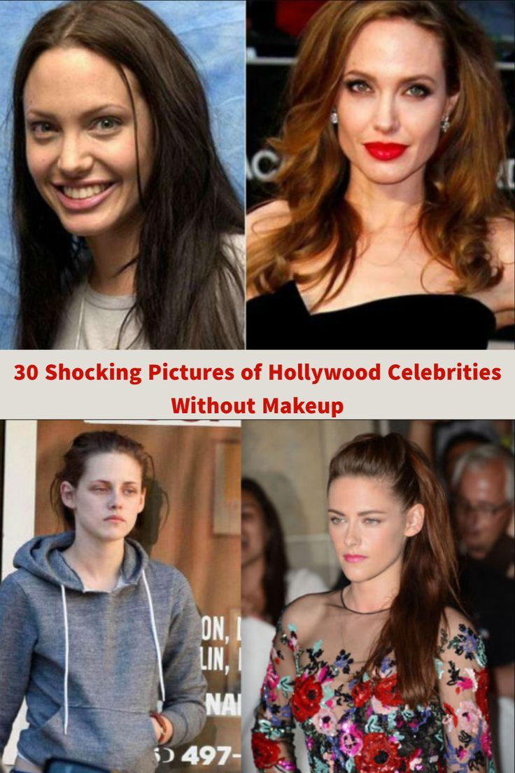 30 shocking pictures of hollywood celebrities without makeup