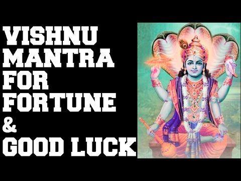 VISHNU MANTRA FOR FORTUNE & GOOD LUCK : MANGALAM BHAGWAN VISHNU : VERY POWERFUL ! - DhyaanGuru