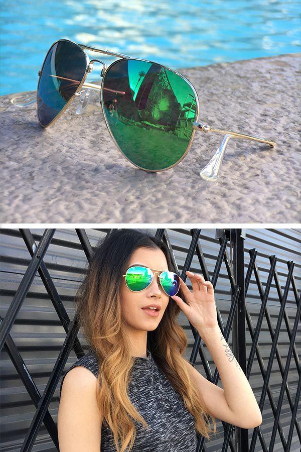 26324c0ef Shop foldable sunglass styles including gold frame sunglasses, polarized  mirror lenses, aviators and classic wayfarer sunglasses for women.
