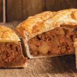Sweet & Spicy Sausage, Potato & Red Onion Pie
