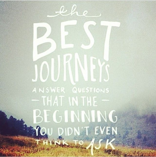 the Best Journey life quotes think best journey beginning