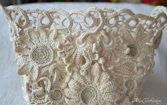 Ботинки винтажные свадебныевенок. от AlisaSonya на Etsy