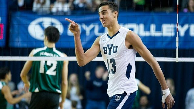 photo of byu mens volleyball team 2014 | Watch the BYU men's volleyball team take on Lewis University, live on ...