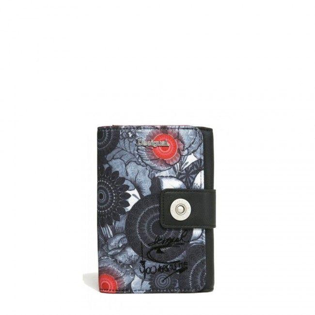 Portafoglio Desigual con bottone Same 67Y53J8 - Scalia Group #desigual #borse #donna #handbags #color #winder #fallwinter #women #wallets #money #portafoglio