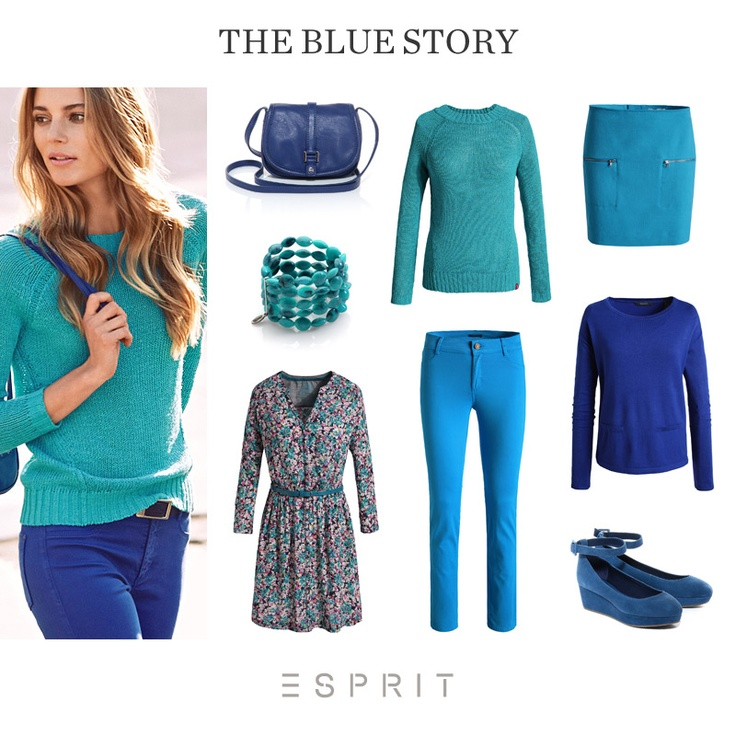 Here are the most beautiful shades of blue for the coming season! #travel #Esprit