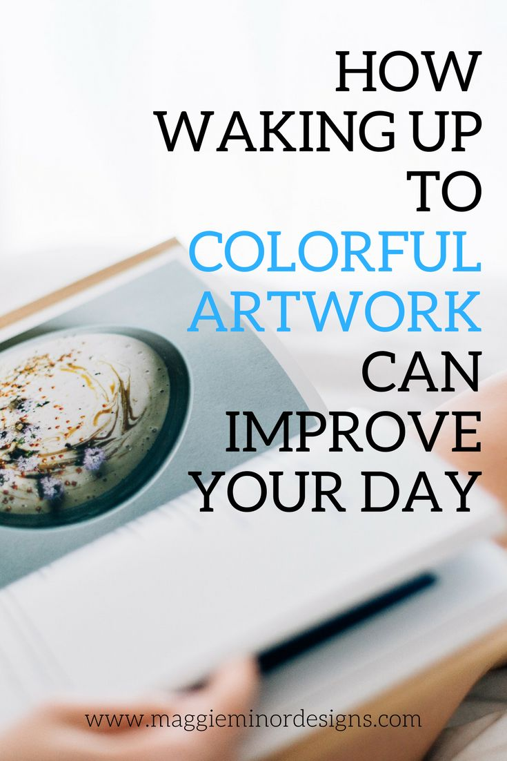 From Luxe Interiors Design How Waking Up To Colorful Artwork Can Improve Your Day