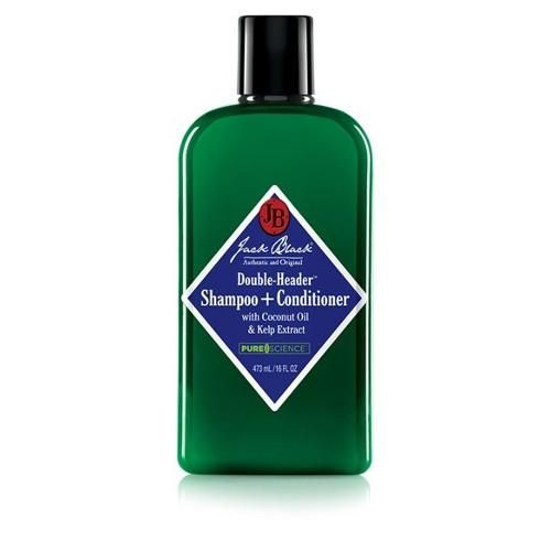 Double-Header Shampoo + Conditioner 16oz by Jack Black