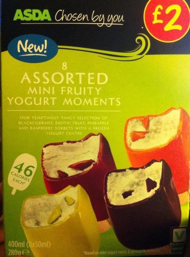 Yoghurty (Ice cream) 2.5 Syns Each