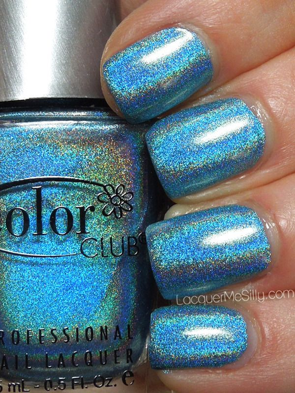 Color Club Over the Moon I covet this blue!