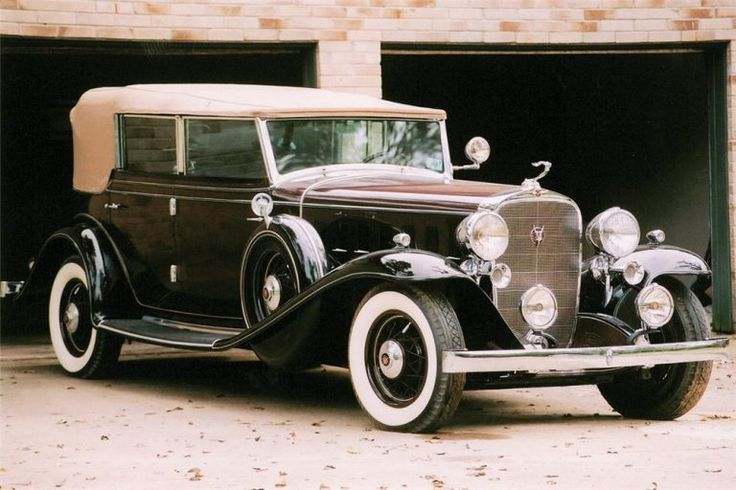 1932 Cadillac 452.....powerful....