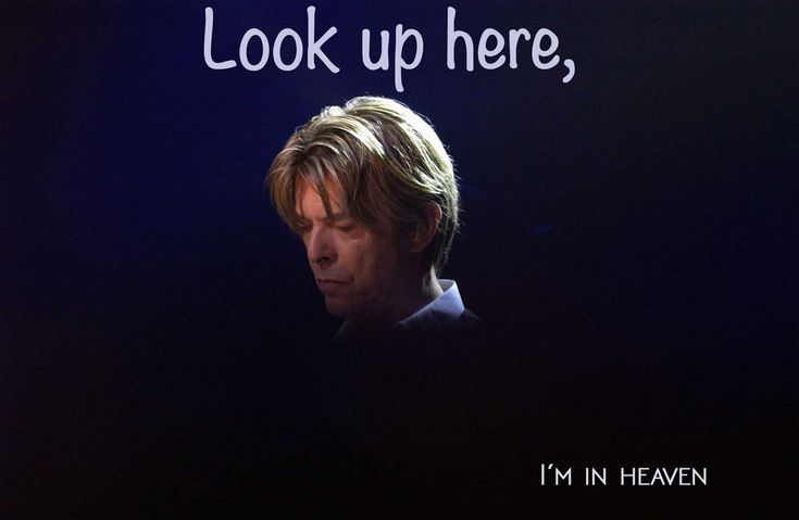 """""""I've got scars that can't be seen I've got drama, can't be stolen Everybody knows me now"""" Lazarus / Black Star / Bowie"""