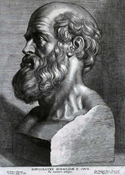 Hippocrates of Cos or Hippokrates of Kos ( c. 460 BC – c. 370 BC) was an ancient Greek physician.  He is referred to as the father of western medicine. He is  first person to believe that diseases were caused naturally, not because of superstition and gods.