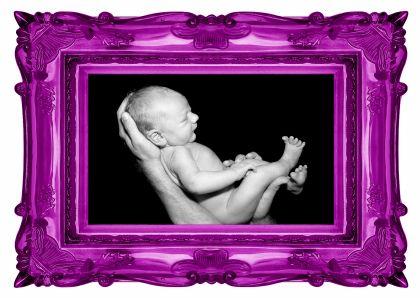 Design Invitation Baby's first party / Uitnodigingen Kraamfeest by OTTI www.kaartje2go.nl