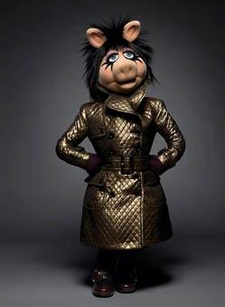 she is a goddess! miss piggy @ the coveteur