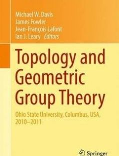 Topology and Geometric Group Theory free download by Michael W. Davis James Fowler Jean-Francois Lafont Ian J. Leary (eds.) ISBN: 9783319436739 with BooksBob. Fast and free eBooks download.  The post Topology and Geometric Group Theory Free Download appeared first on Booksbob.com.