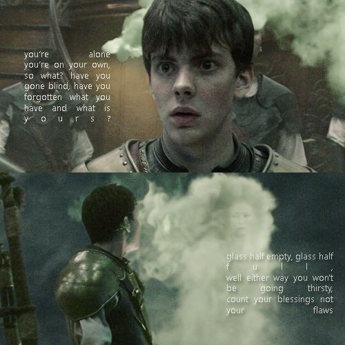 "Edmund - ""Have you forgotten what you have and what is yours?..."""