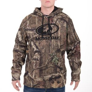 Size SMALL Mossy Oak Men's Camo Pullover Hoodie