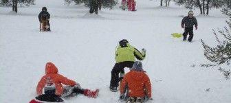 Bambini e inverno: ecco perché giocare all'aria aperta fa bene