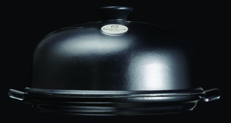 Klosz piekarniczy do chleba - czarny - Emile Henry - DECO Salon #cover #baking #bread #kitchenaccessories #giftidea