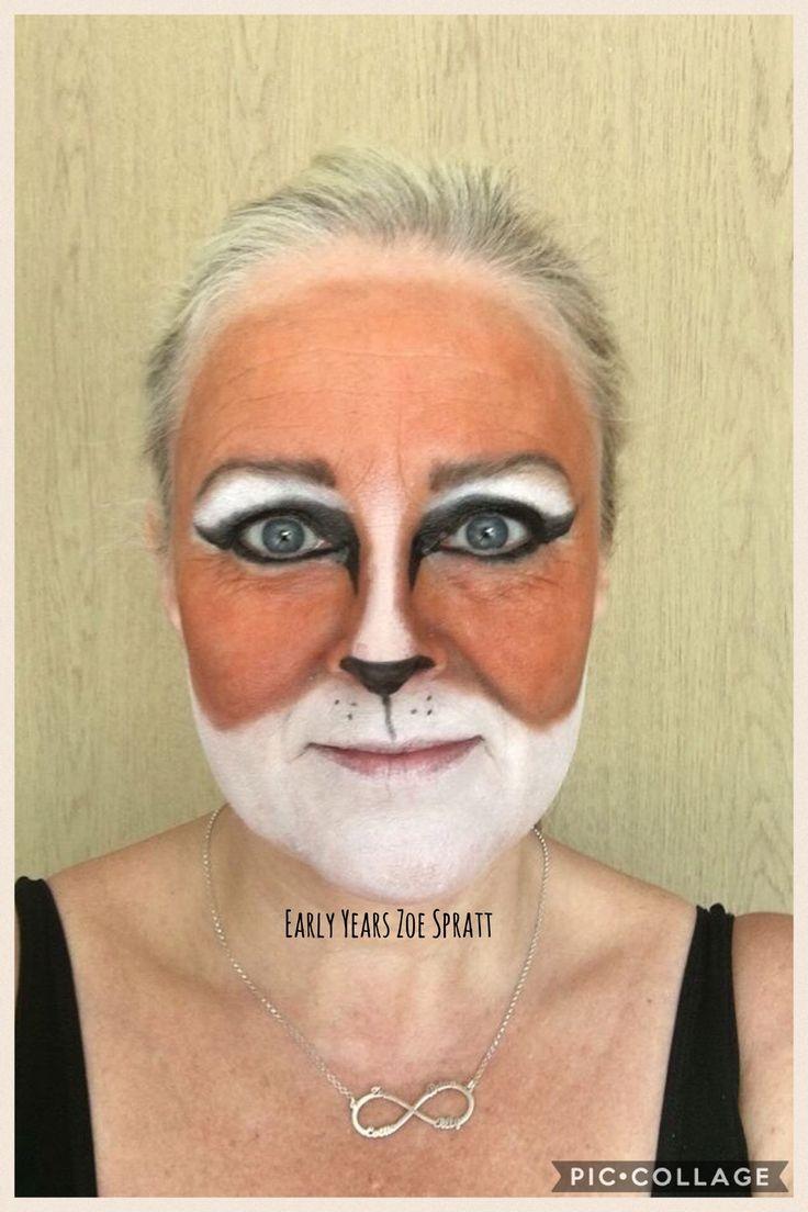 Fantastic Mr Fox makeup work book day
