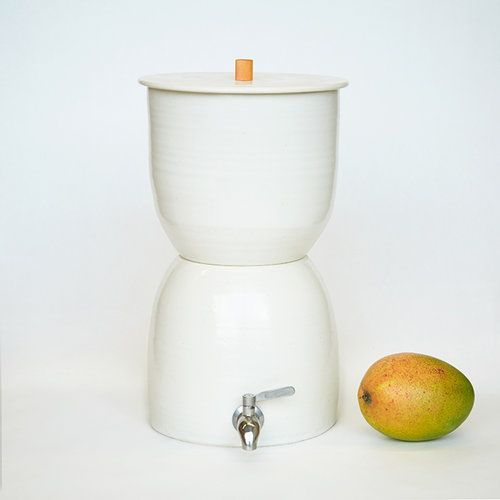 Walter Filer. Dispenser and filter all in one unique ceramic vessel. No two alike. $475 each.
