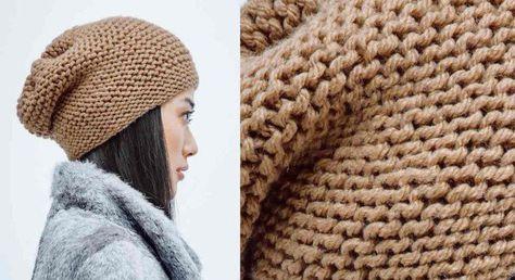 Le grand bonnet chaud et confortable que l'on veut cet hiver, c'est un simple rectangle au point mousse resserré à une extrémité. Amusant et rapide à tricoter. Taille unique Le ...