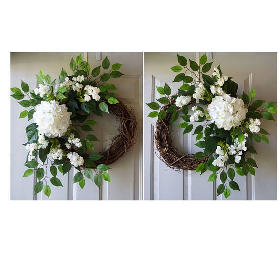 NEW Double Door Wreaths Spring Summer Wreaths for Front Door