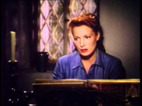 "Maureen O'Hara sings in ""The Quiet Man"""