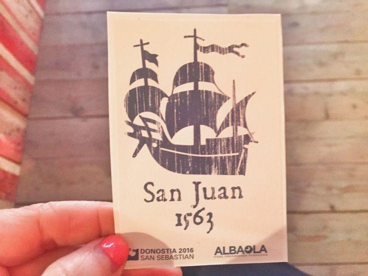 Navío San Juan..Ballenero-albaola san juan pasajes