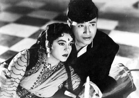 Dev Anand and Kamini Kaushal