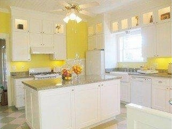 Yellow kitchens, Santa clara and Lemon yellow on Pinterest