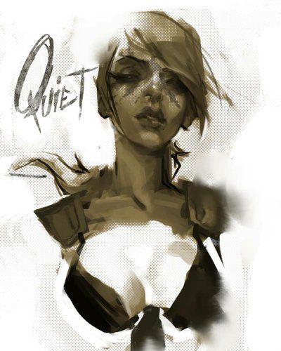 Quiet MGS by JimboBox.deviantart.com on @DeviantArt