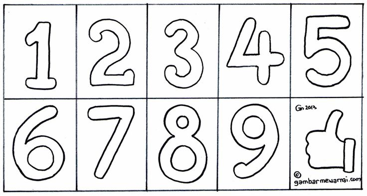 Siapa yang punya gambar titik-titik angka berhubungan