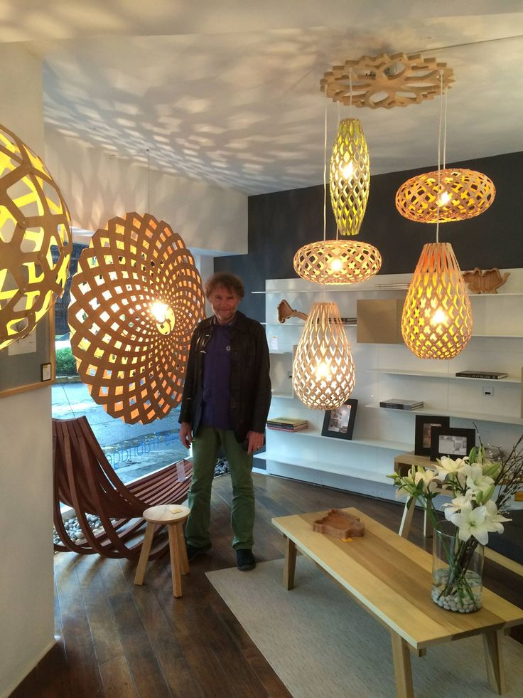 At LOFFT In Mexico, David Trubridge With His #lighting Designs