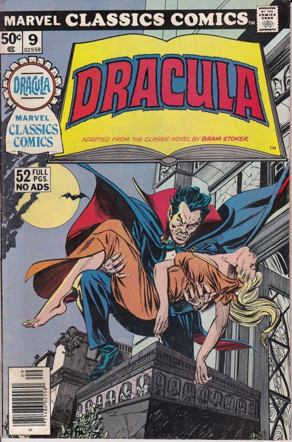 Marvel Classic Comics 9  Dracula  September 1976  Marvel
