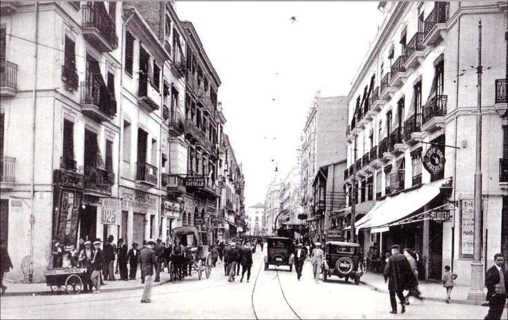 Actual paseo de ruzafa esquina con calle x tiva 1930 for Oficina objetos perdidos valencia